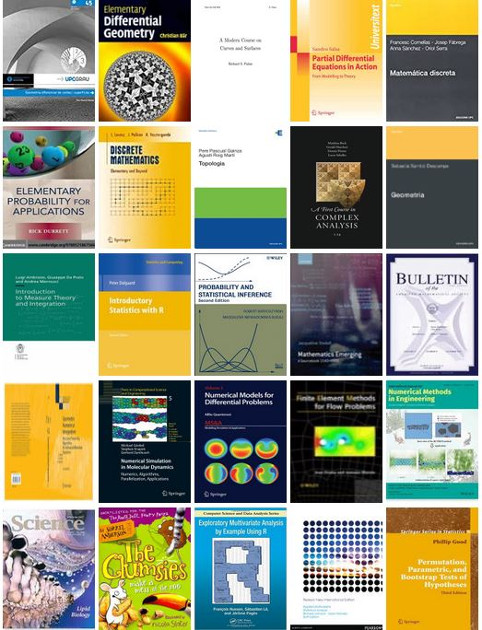 Electronic books for the 2nd Semester