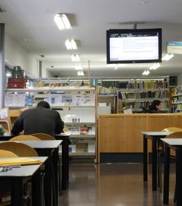 Ven a la biblioteca FME con cita previa