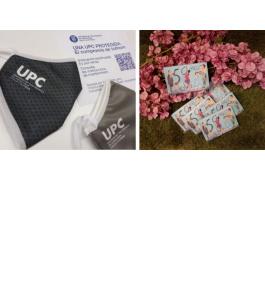 Masks and diaries UPC