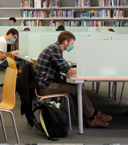 A partir del dilluns 23 reserva un lloc d'estudi a les biblioteques
