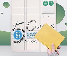 Recollir llibres a un Smart Point de la UPC