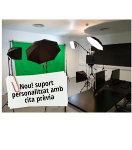 NOU! Suport personalitzat pel servei de producció audiovisual del CBL