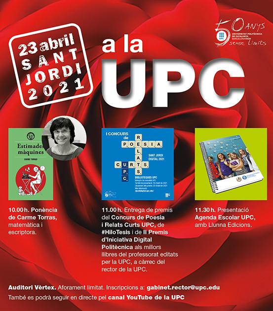 Sant Jordi 2021 en la UPC