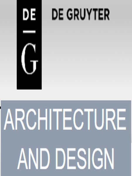 By Gruyter. Architecture and design