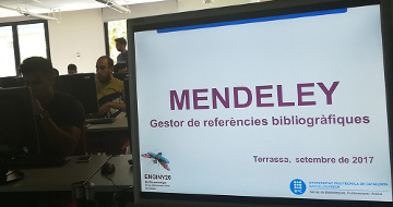 Gestores de referencias: Mendeley