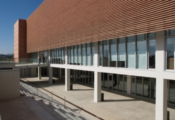 Image of the library building