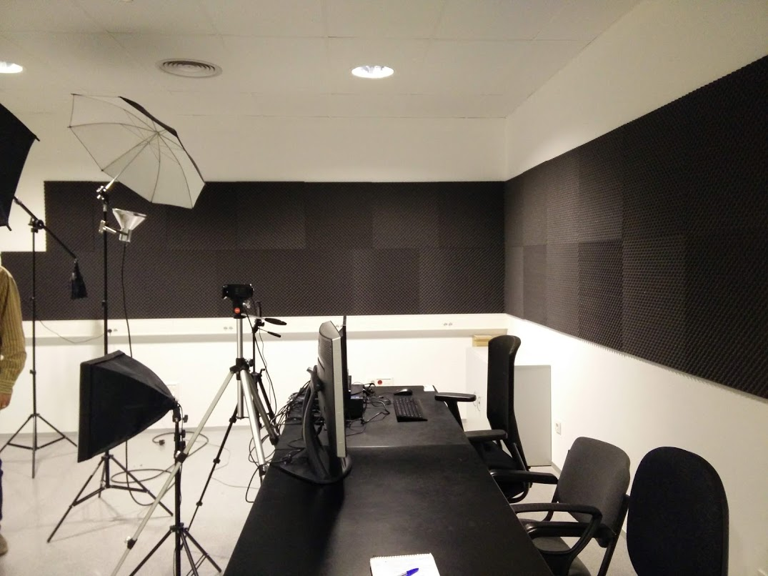 Audiovisual production room