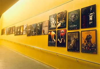 Zona de exposiciones de la BEPSEVG