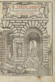 Serlio, Sebastiano. Il terzo libro di Sebstiano Serlio Bolognese ...
