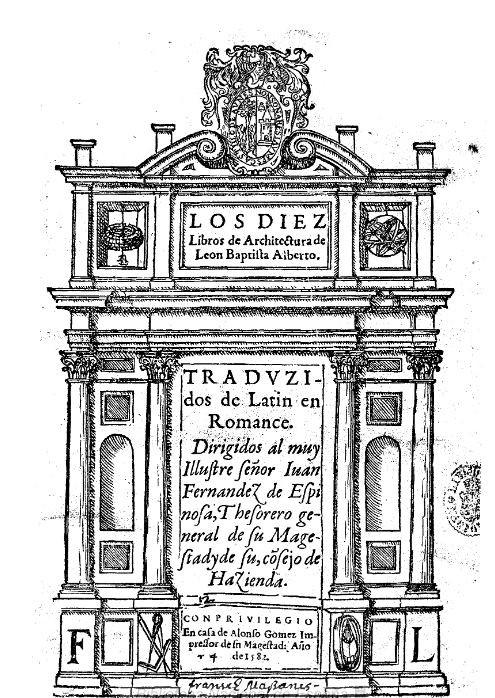 ALBERTI, Leon Battista. Los diez libros de architectura