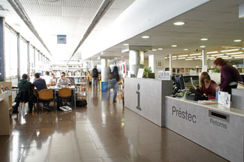 Library of the ETSEIB