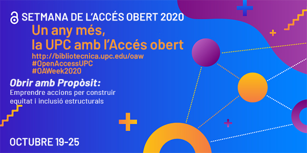 Open Access Week 2020 at the UPC