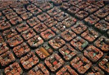 Ensanche de Barcelona. Plan Cerdà