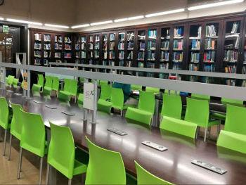 Sala de la biblioteca FNB