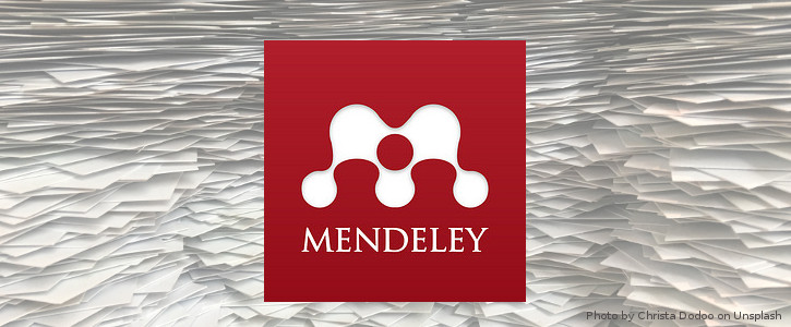 Create bibliographies with Mendeley