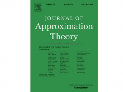 Journal of Approximation theory