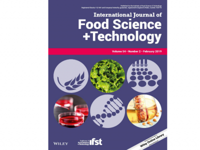 International journal of food science and technology
