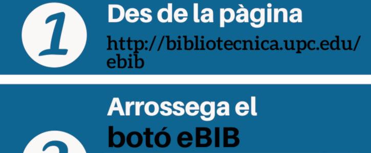 eBIB en 5 passos