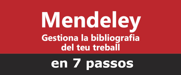 Mendeley in 7 steps