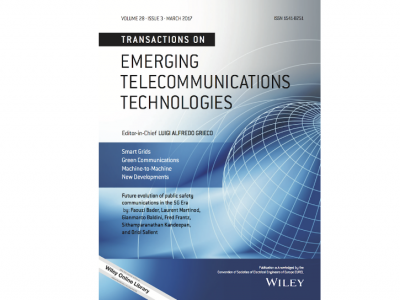 Transactions on Emerging telecommunications technologies