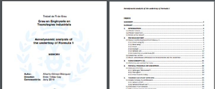 Normativa y requerimientos TFG / TFM