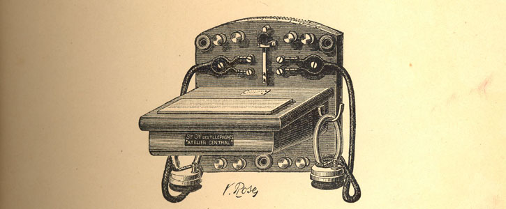 Telegraphy and telephony