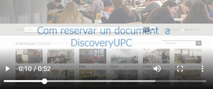 Vídeo: com reservar un document?
