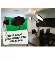 Personalized support for the CBL audiovisual production service